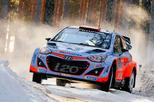 Kevin Abbring rally van Zweden (foto ANP)