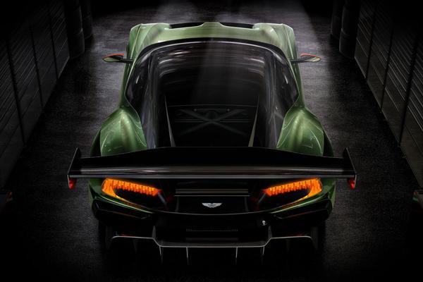 Geen straatlegale Aston Martin Vulcan