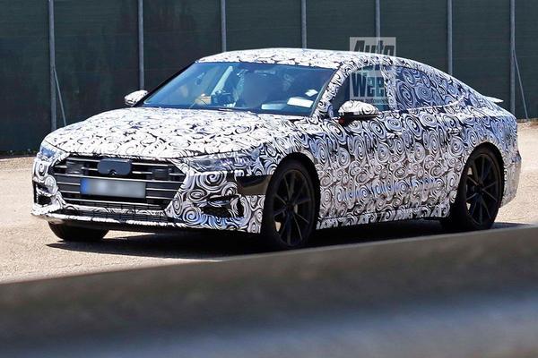 Gesnapt: nieuwe Audi A7 Sportback