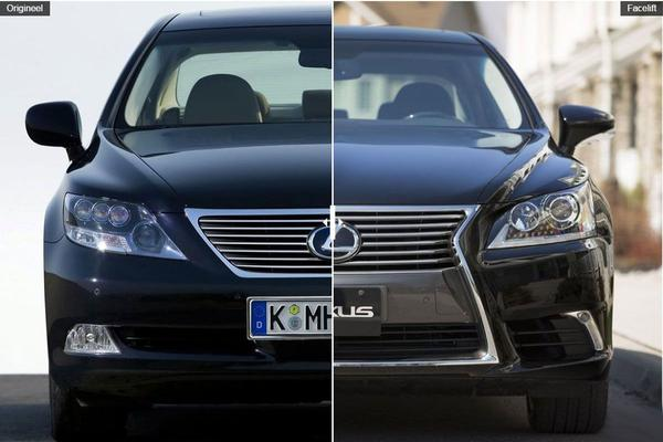 Facelift Friday: Lexus LS