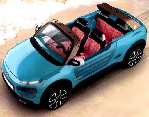Nu wel de echte Citroën Cactus M opgedoken!