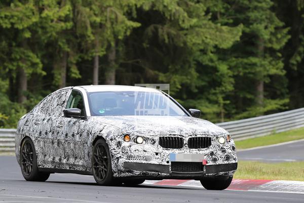 Eerste spyshots nieuwe BMW M5
