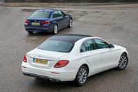 Dubbeltest - Mercedes E-klasse vs. BMW 5-serie