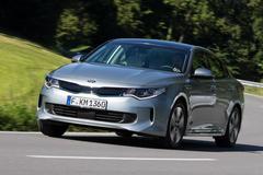 Kia Optima Plug-in Hybrid - Rij-impressie
