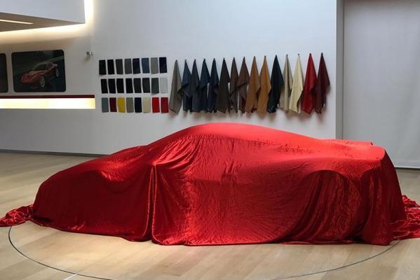 Mysterieuze Ferrari gesnapt