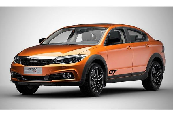 Qoros geeft 3 Sedan Cross Country-DNA