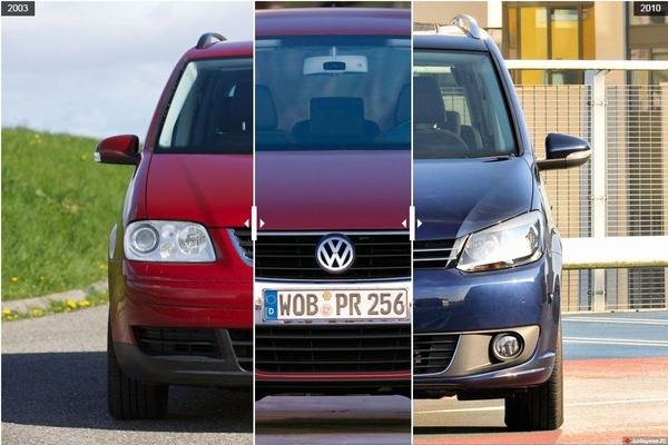 Facelift Friday: Volkswagen Touran