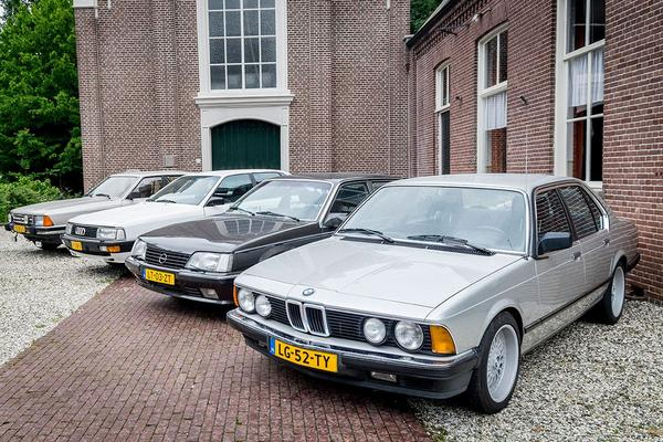 Video: Opel Senator - Ford Granada - BMW 728i - Audi 200