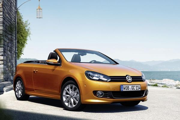 Volkswagen toont gefacelifte Golf Cabriolet