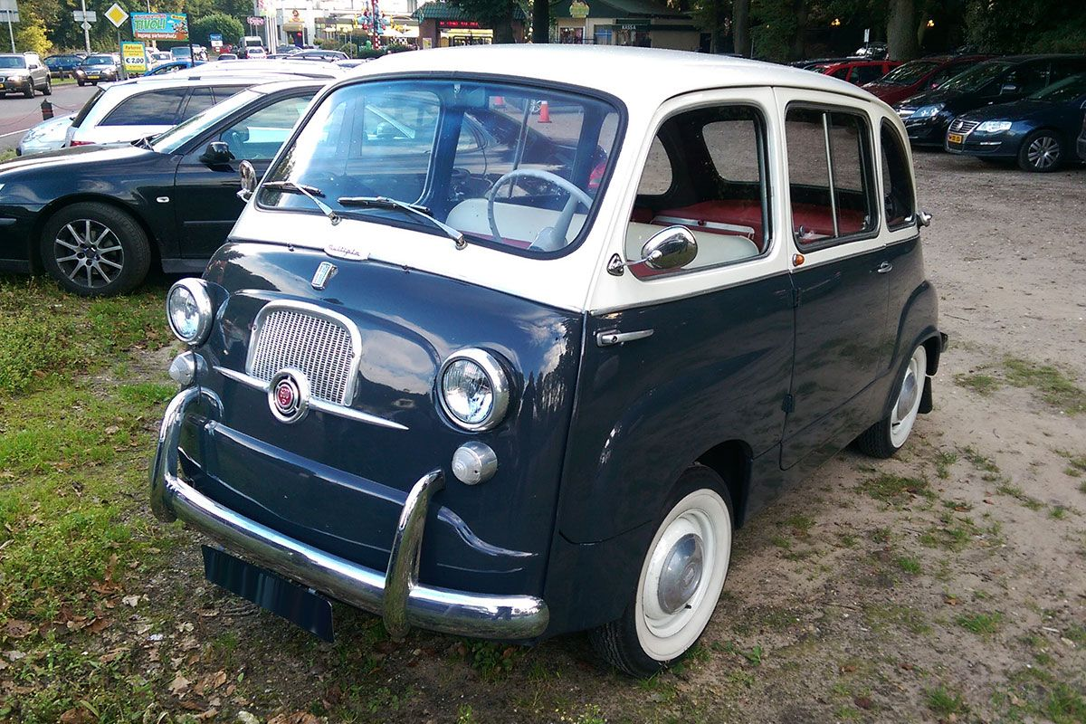 in het wild fiat 600 multipla 1960 autonieuws. Black Bedroom Furniture Sets. Home Design Ideas