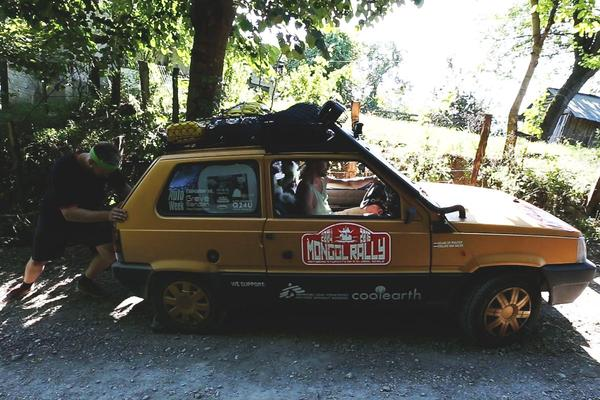 Video: Fiat Panda goes Mongol Rally - Deel 2