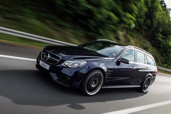 Väth geeft Mercedes E 63 AMG 750 pk
