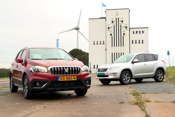 Video: Suzuki SX4 S-Cross vs. Toyota RAV4 - Dubbeltest
