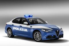 Alfa Romeo Giulia voor Italiaanse staatspolitie