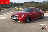 AW Update - Lexus RC en GS vanaf Mallorca