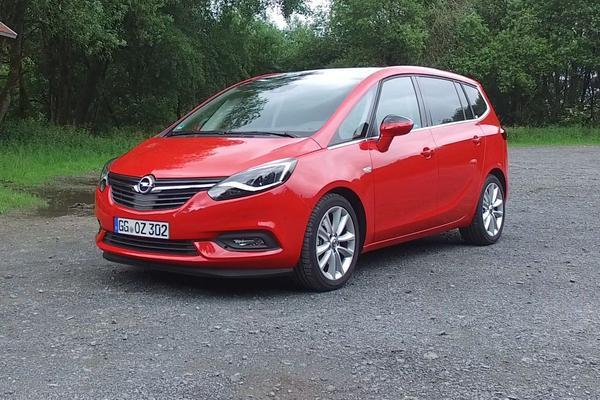 Video: Rij-impressie - Opel Zafira