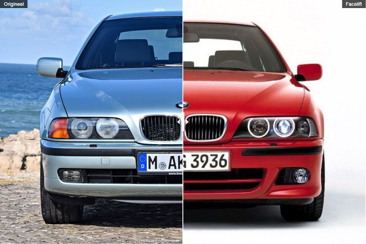 facelift friday bmw 5 serie e39 autonieuws. Black Bedroom Furniture Sets. Home Design Ideas