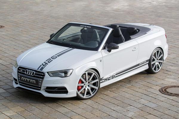 MTM geeft Audi S3 Cabrio 426 pk