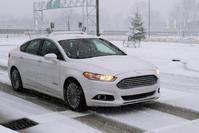 Ford Autonoom Sneeuw