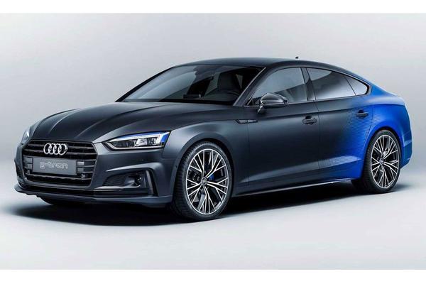 Audi A5 Sportback G-tron naar de Wörthersee