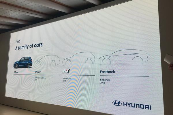 Hyundai i30 komt ook als fastback