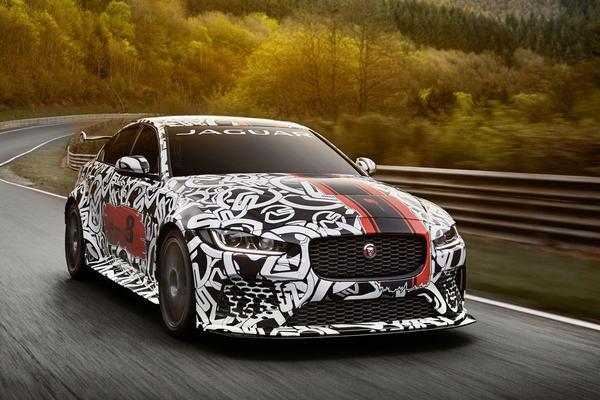 Brute aankondiging: Jaguar XE SV Project 8