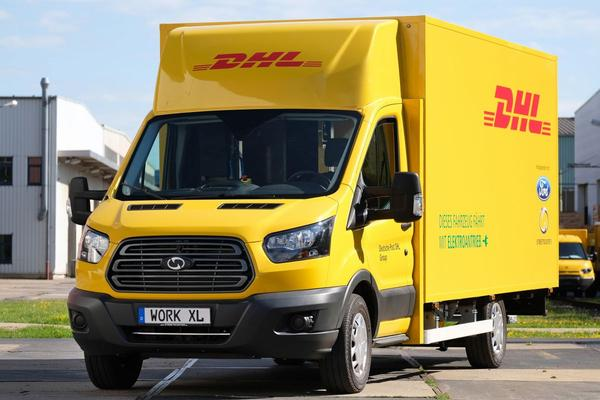 Ford en DHL presenteren StreetScooter Work XL