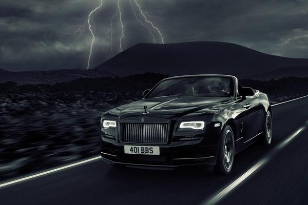 Rolls-Royce Dawn als Black Badge