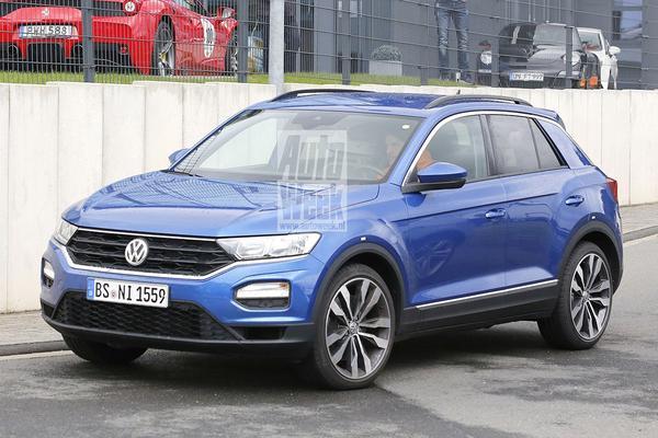 Volkswagen test sportief ingestelde T-Roc