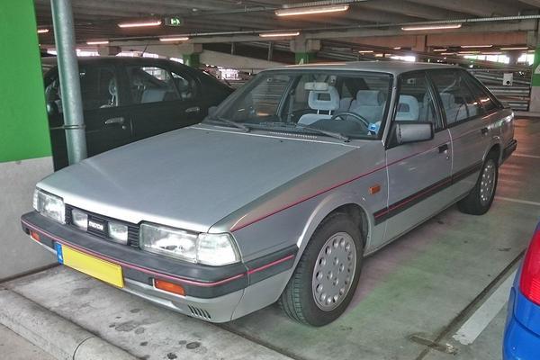 In het wild: Mazda 626 2.0 GT (1986)