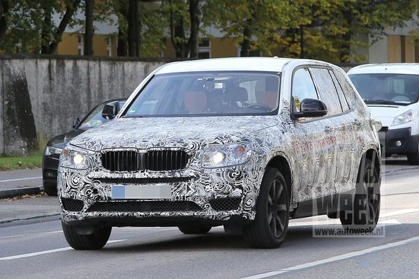 Nieuwe BMW X3 laat meer details zien