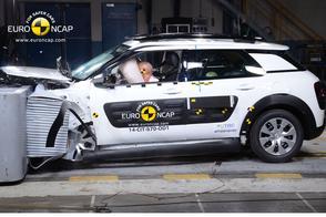 Euro NCAP: vier sterren voor Citroën C4 Cactus