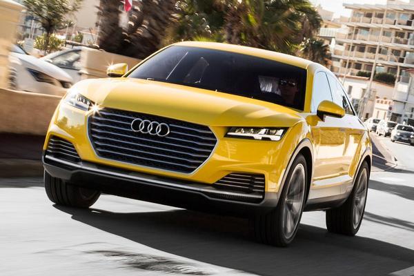 Audi TT Offroad gaat als TTQ in productie