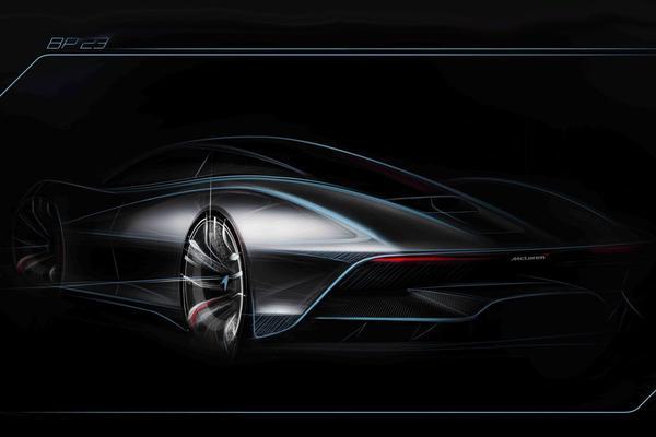 McLaren teast 'BP23' nogmaals