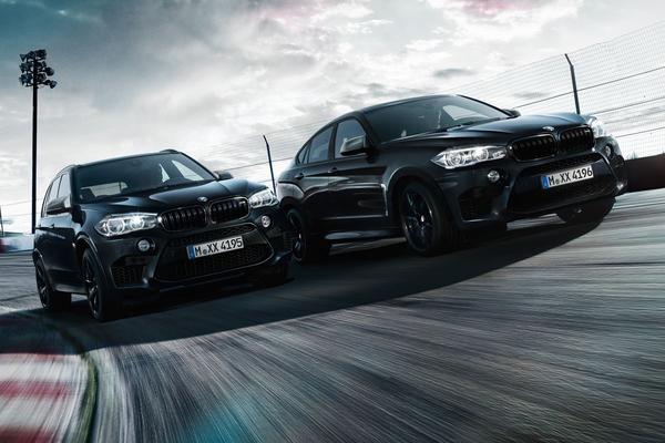 BMW X5 M en X6 M 'Black Fire Edition'