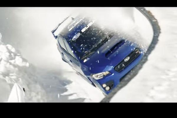 Video: Subaru 'ragt' WRX STi van een bobsleebaan