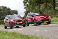 Peugeot 2008 vs Renault Captur - Dubbeltest