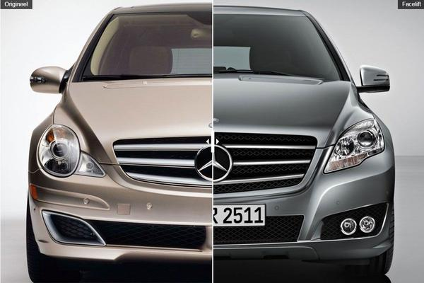 Facelift Friday: Mercedes-Benz R-klasse