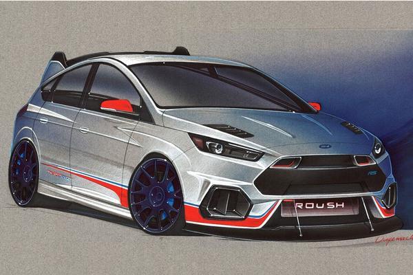 Ook Focus en Fiesta op Ford-stand SEMA