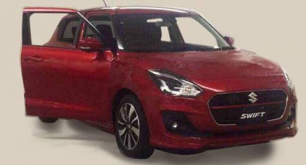 Nieuwe Suzuki Swift duikt op