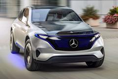 'Mercedes-Benz neemt EV Concept mee naar IAA'
