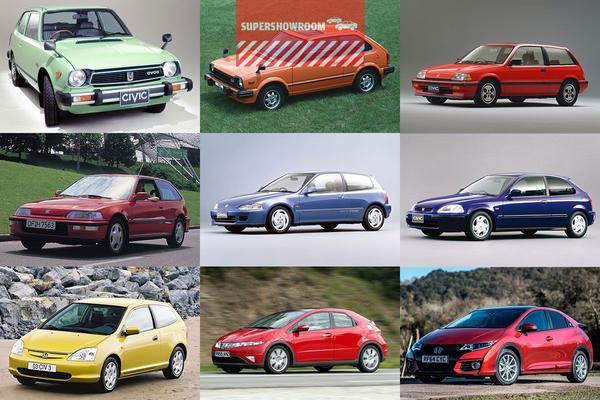 Supershowroom: Honda Civic