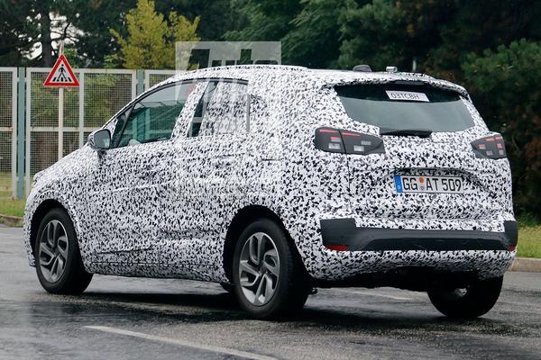 ***UPDATE***Nieuwe Opel Meriva heet  'Crossland X'
