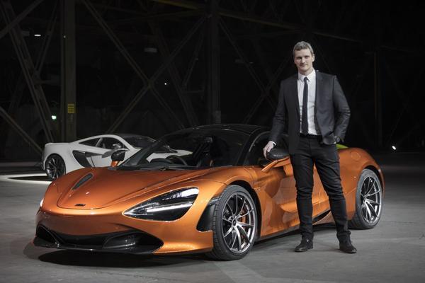 Nieuwe Design Director voor McLaren