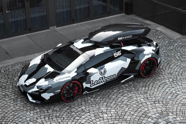 Nieuwe Lamborghini Huracán van Jon Olsson
