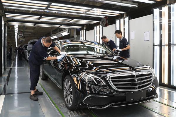 Daimler bouwt miljoenste auto in China