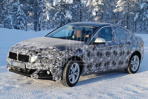 BMW 1-serie sedan laat meer van zich zien