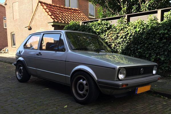 In het wild: Volkswagen Golf (1982)
