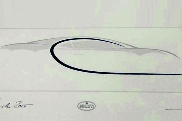 Eerste lijnen Bugatti Chiron opgedoken