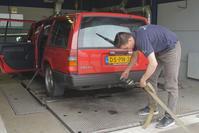 Op de Rollenbank Volvo 940 TD